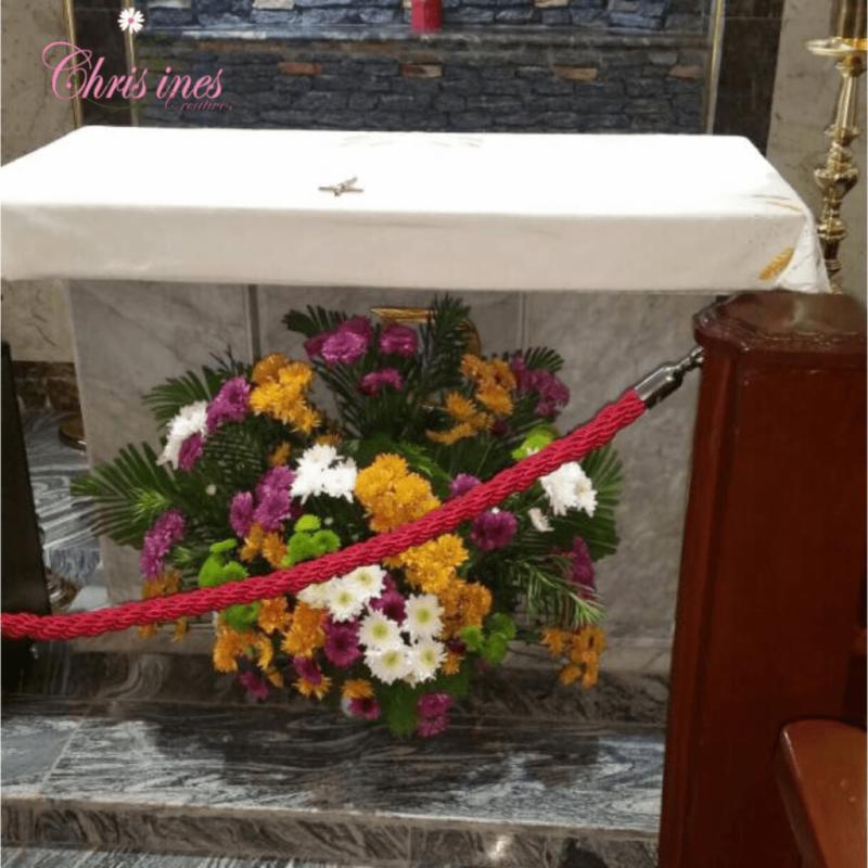 Church Altar Decoration In Nigeria